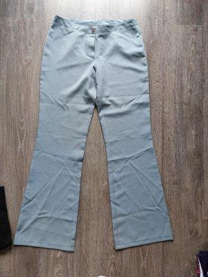 Unbekannte Marke Flares pale blue polyester