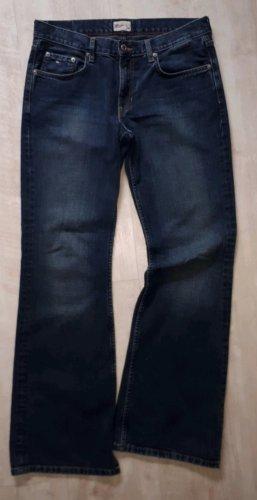 Schlaghose Vintage blue