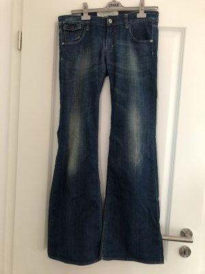 Kuyichi Jeans flare bleu foncé
