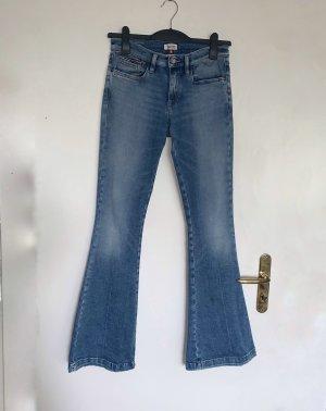 Tommy Hilfiger Denim Jeans a zampa d'elefante multicolore Denim