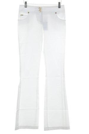 Schlaghose weiß 80ies-Stil