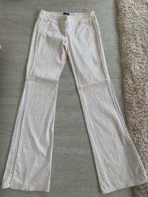 Bloom Pantalone a zampa d'elefante bianco