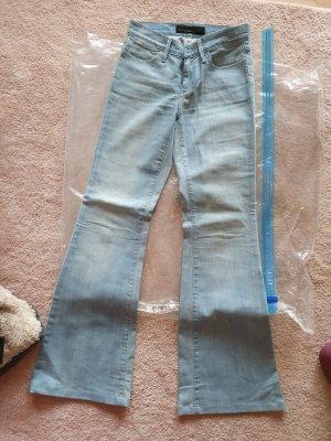 Goldsign Jeansowe spodnie dzwony jasnoniebieski