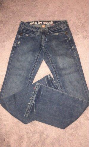 Edc Esprit Jeans a zampa d'elefante blu