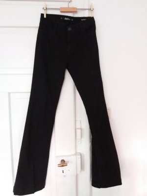 Schlagjeans schwarz Zara