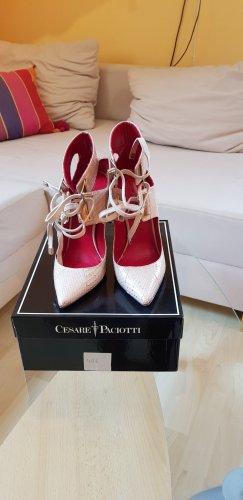 Cesare Paciotti High Heels cream