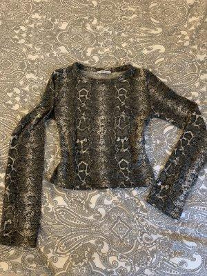 Schlangen Muster Shirt