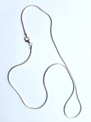Schlangenkette Silber 925er Kette Sterlingsilber Silberkette 1,2mm - 40cm NEU