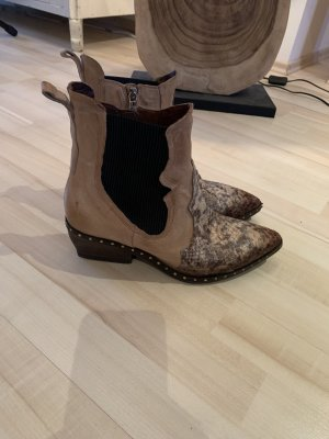A.S.98 Western Booties multicolored