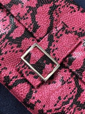 Schlangenmuster Clutch Bag