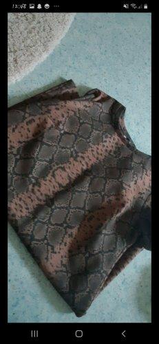 Schlangenmuster Kleid von Zara in einem einwandfreien Zustand