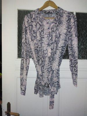 Schlangenoptik Bluse von Tally Weijl, Gr.S