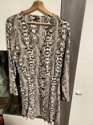 Schlangenoptik Kleid