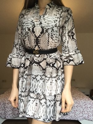 Schlangenprint Kleid