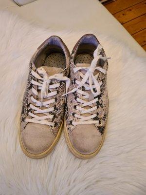 Schlangenprint- Sneakers Gr.38 kaum getragen