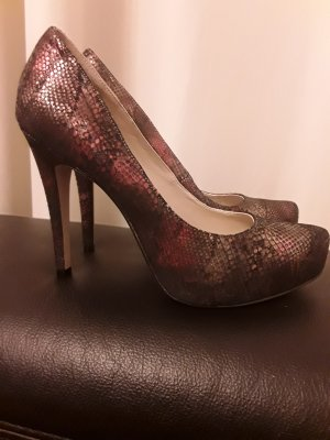 BCBG Platform Pumps brown