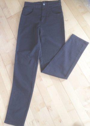 Giorgio High Waist Trousers dark blue