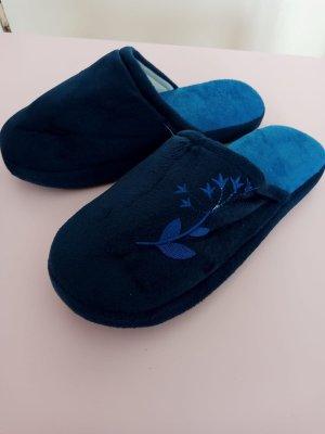 Ciabatta aperta blu