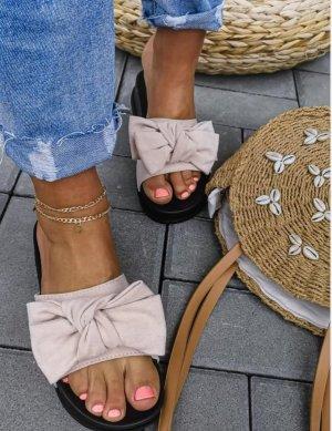 Star style Comfort Sandals black-beige