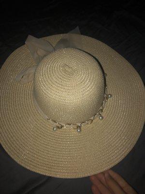 Zachte hoed beige-room