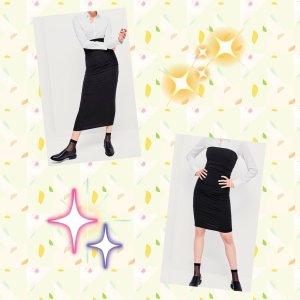 Schlauch Kleid
