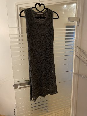 Kangra Cashmere Tube Dress silver-colored-anthracite