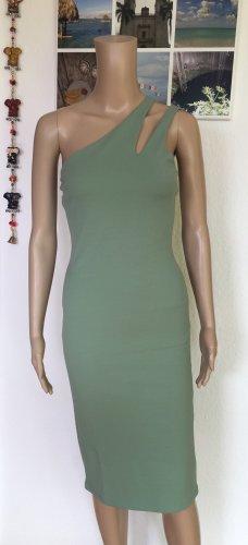 H&M Tube Dress sage green