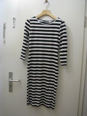 Tube Dress white-black spandex