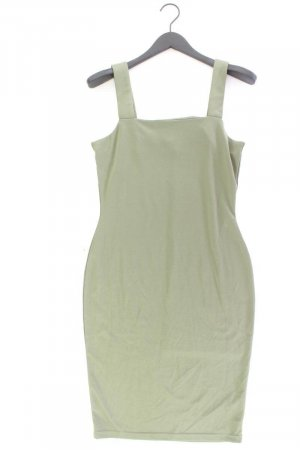 Robe tube vert olive polyester