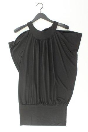 Schlauchkleid Größe M Kurzarm schwarz aus Polyester