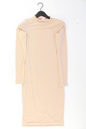 Schlauchkleid Größe M Langarm rosa aus Polyester