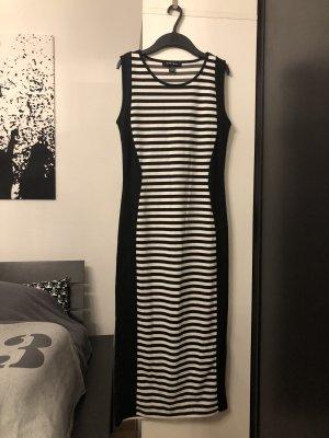 Amisu Tube Dress black-white