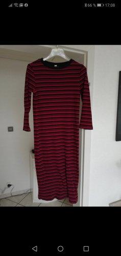 Q/S Tube Dress dark red-dark blue