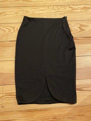 Schlauchrock in schwarz
