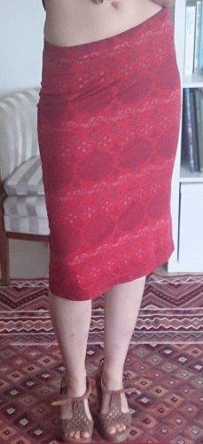 More & More Falda stretch rojo
