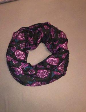Tube Scarf black-lilac