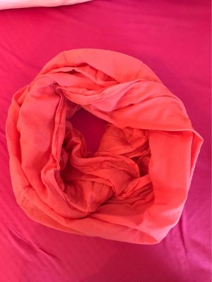 0039 Italy Tube Scarf salmon cotton
