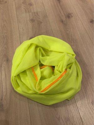 no name Bufanda tubo amarillo neón-naranja neón
