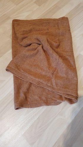 H&M Bufanda tubo marrón-coñac