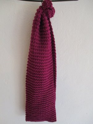 Knitted Scarf purple