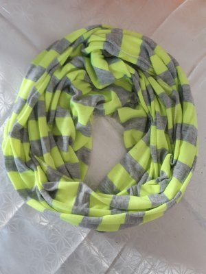 ohne Etikett Tube Scarf yellow-silver-colored