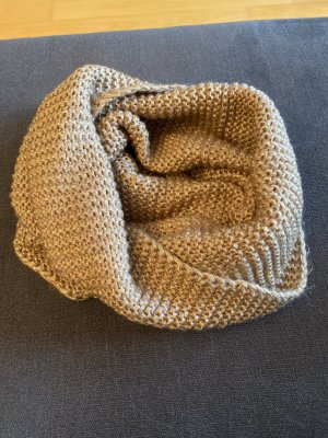 H&M Tube Scarf beige-bronze-colored