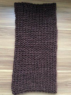 unbekannte Bufanda tubo marrón oscuro