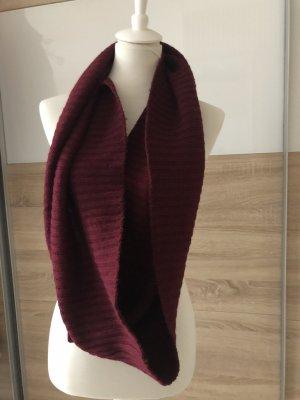 H&M Tubesjaal paars-bordeaux