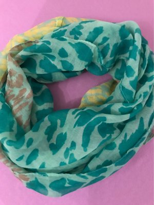0039 Italy Tube Scarf multicolored cotton