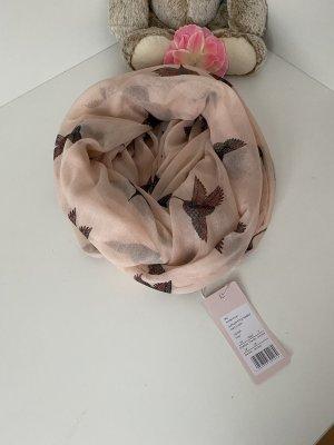 Anna Field Bufanda tubo nude-marrón oscuro