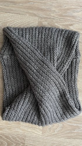 Unbekannte Marke Bufanda tubo gris-gris oscuro
