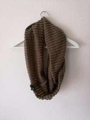 H&M Bufanda tubo marrón-marrón claro