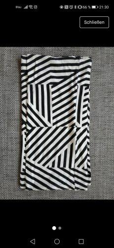 Pieces Bufanda tubo blanco-negro