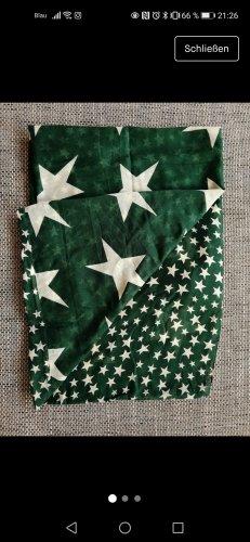 Pieces Scaldacollo bianco-verde scuro
